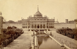 [The Husainabad Imambara, Lucknow.]